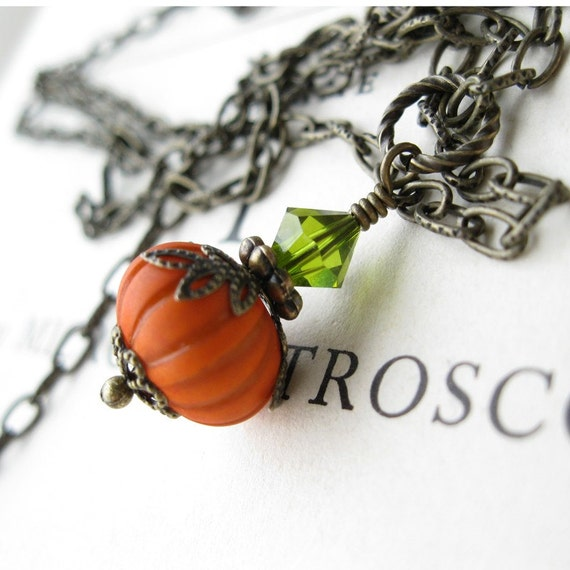 The Great Pumpkin necklace LIMITED