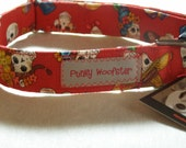 Day of the Dead - Dia De Los Muertos Dog Collar by Punky Woofster