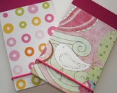 2 Pack Fab Pad Set - Little Bird and Bubbles