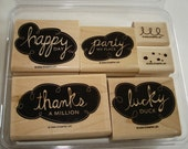 Destash - SU Quirky Quips Stamp Set