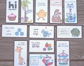 Lunch Box Love Notes Series 9c, Lunch Notes for Kids, Lunch Box Notes