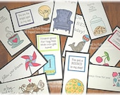Lunch Box Love Notes Series 11a, Lunch Notes for Kids, Lunch Box Notes
