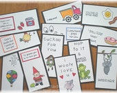 Love Those Lunch Box Love Notes Series 15b