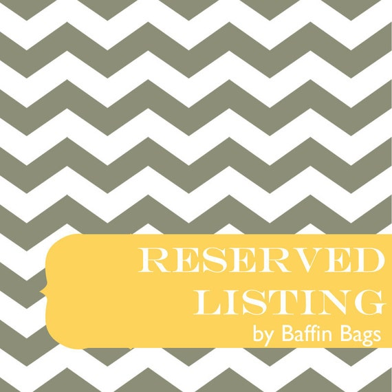 Reserved Listing for Brittany - Diaper Caddy - Fabrics you sent me