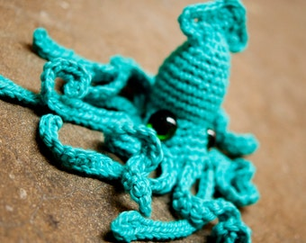 Realistic Squid - Crochet Pattern PDF