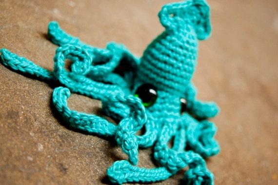 Realistic Squid - Crochet Pattern PDF