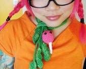 Easter Egg Radish Scarf - Made to Order
