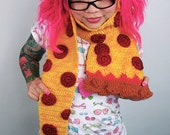 Pepperoni Pizza Scarf - Made to Order