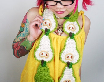 Pear Scarf - Made to Order