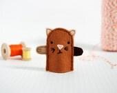 Kitten Finger Puppet - Ginger Nut - Role Play