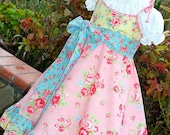 Dress Girls Birthday Tea Party Easter  Flower Girl Twirl Dress Size 12 months to 10 yrs LAST ONE