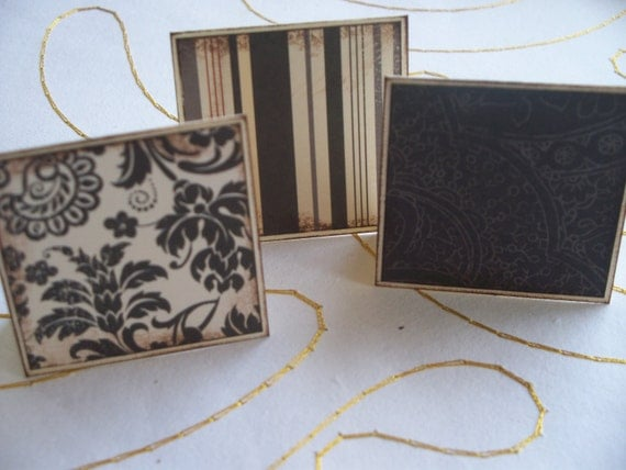 Days of Rennaissance II Little Note Cards / Gift Tags / Place Cards Set Of 27