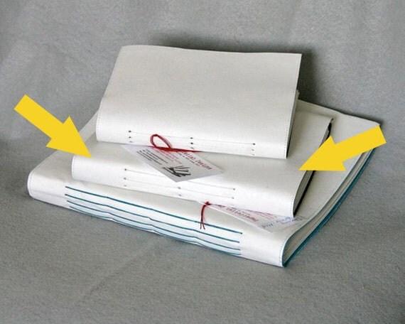 Starving Artist - Medium Size Art Journal - Handbound - Sketchbook (6.5 x 9 inches)