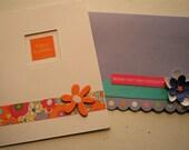 HAPPY BIRTHDAY notecard set