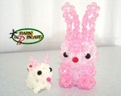Chinchilla Crystal Bead Figurine - Reserved for Loftongal