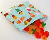 Sweet Shoppe - green by mamamade Eco-Friendly Reusable Sandwich Bag