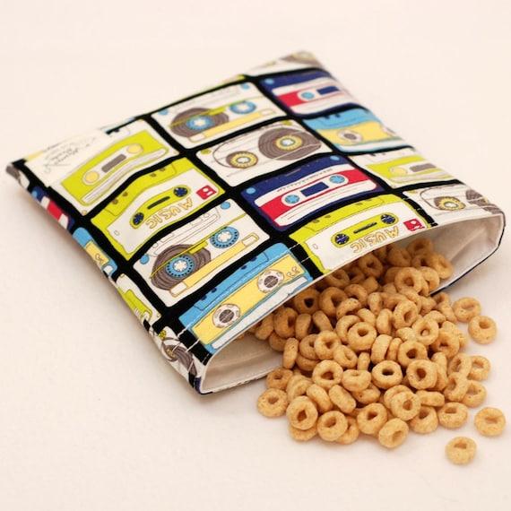 Rewind - Medium Reusable Sandwich Bag from green by mamamade