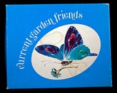 """Super Cute Stationary """"Current Garden Friends"""" Vintage Watercolor Note Cards / Envelopes Printed with Various Woodland Insects"""