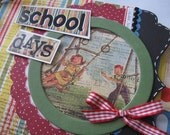 SCHOOL DAYS Vintage Inspired Album SALE