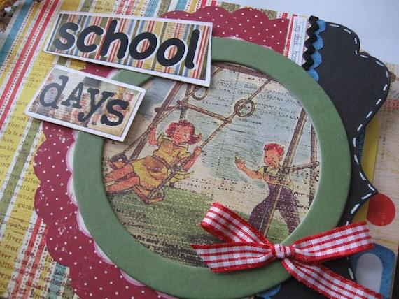 SCHOOL DAYS Vintage Inspired Album SALE