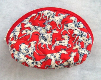 Small Quilted Purse - Dalmatians