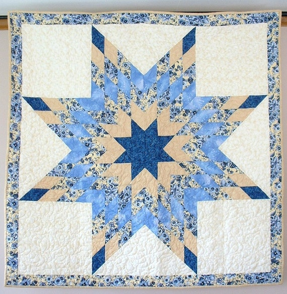 Lone Star or Star of Bethlehem Quilt by doodlebugquilts on ...