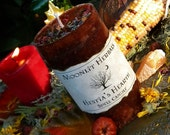 Hestia's Hearth Spell Candle - 2x3 Pillar - Honoring the Goddess of Hearth and Home, Protection, Cleansing, Blessings, Peaceful Home