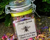 Mysteries of the Melissae - Magickal Incense of the Bee Priestess - Garden Blessing, Wisdom, Pursuing Dreams, Accomplishing the Impossible