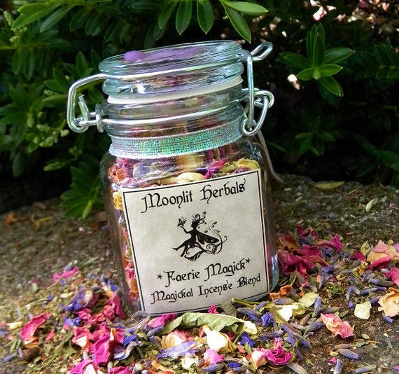 Faerie Magick - Magickal Incense Blend - Connecting with the Fae, Garden Blessing, Faerie Sight, Working with Nature Spirits