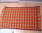 Handmade scatter rug