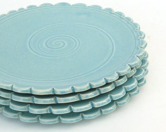 Pottery Dishes - Set of 4 - MADE TO ORDER