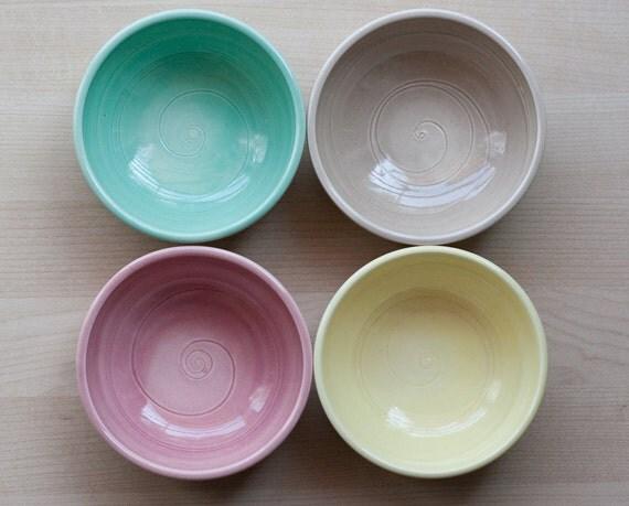 Dessert Bowls - Prep Bowls - Set of 4 - Unmatchy