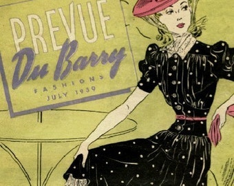 Two Du Barry Prevue booklets dating 1939 and 1940 in PDF