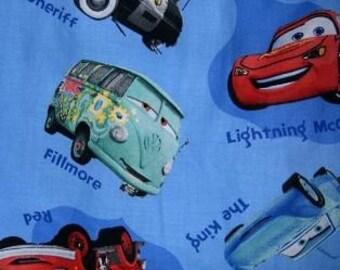MadieBs Custom Disney Cars Toddler Crib Sheet set 3 piece personalized