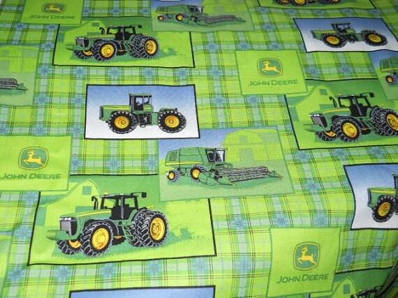 MadieBs Custom John Deere  Toddler Crib Sheet set 3 piece personalized
