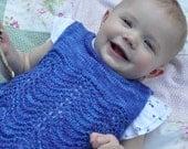 PDF Knitting Pattern - Aubrey Baby Vest