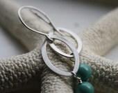 Jade Swarovski Crystal Pearl Earrings