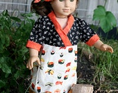Dolls Clothes to fit 18 inch doll or American Girl Japanese Kimono Dress