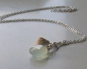 sea and sand lariat necklace