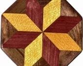 Poids SW-Ph-noyer Quilt Block