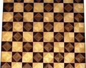 Walnut-Wenge, Hackberry-Maple Chess Board