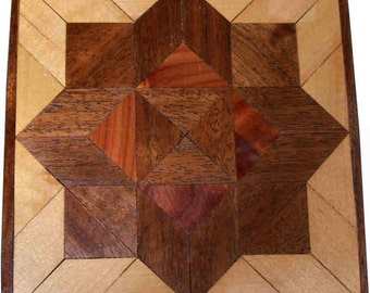 Walnut Aunt Sukeys Choice Quilt Block