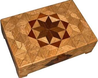Oak Flat Box
