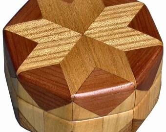 Elm, Cedar, Ash Ring Box