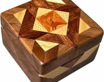 Brown Tone Tiny Square Box