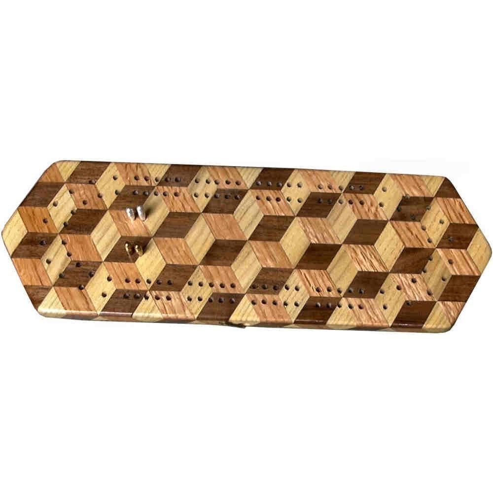 Taumeln Block Cribbage Board