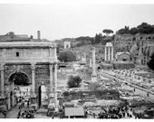 RESERVED for Sarah - Forum Romanum 8x12 Fine Art Print