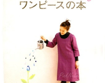Smile SEWING ONE-PIECE  Japanese Craft Book*