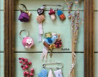 Basic Lessons Cute NEEDLE FELTING ACCESSORIES Japanese Craft Book