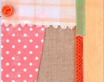 Out of Print - Scrap Fabrics Zakka Goods - Japanese Craft Book